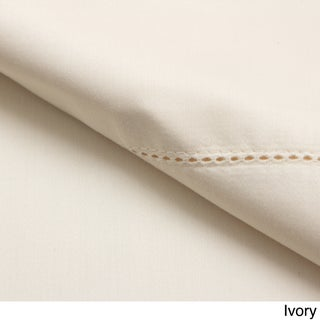 Andiamo Solid 500 Thread Count 100 Percent Cotton Deep Pocket Sheet Set (More options available)