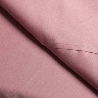 Solid Wrinkle Resistant 300 Thread Count Cotton Sheet Set