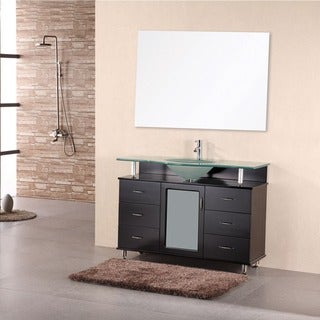 Design Element Huntington Contemporary Bathroom Vanity Set