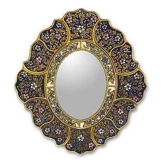 Garden Gold' Mirror  , Handmade in Peru