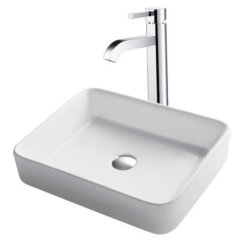 4db09c97568961 Buy Grey, Vessel Sink & Faucet Sets Online at Overstock | Our Best ...