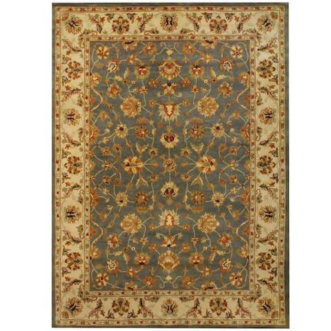 Handmade Mahal Wool Rug (India) - 8' x 11'