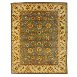 Herat Oriental Indo Hand-tufted Mahal Wool Rug (7'3 x 9'3)