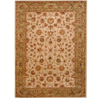 Herat Oriental Indo Hand-tufted Mahal Wool Rug (8' x 11')