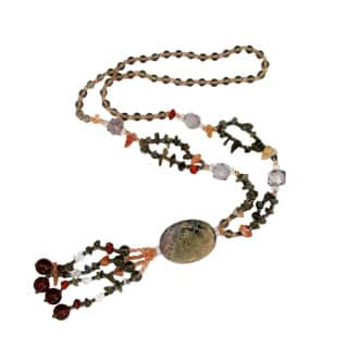 Handmade Jasper/ Smoke Quartz Necklace (China)|https://ak1.ostkcdn.com/images/products/4071151/P12087135.jpg?impolicy=medium