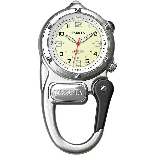 Dakota Men's Water-Resistant Mini-Clip Watch