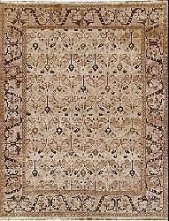 Nourison Hand-woven Millennia Gold Rug (8'10 x 11'10)