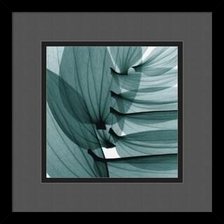 Steven N. Meyers 'Lily Leaves' Framed Art Print
