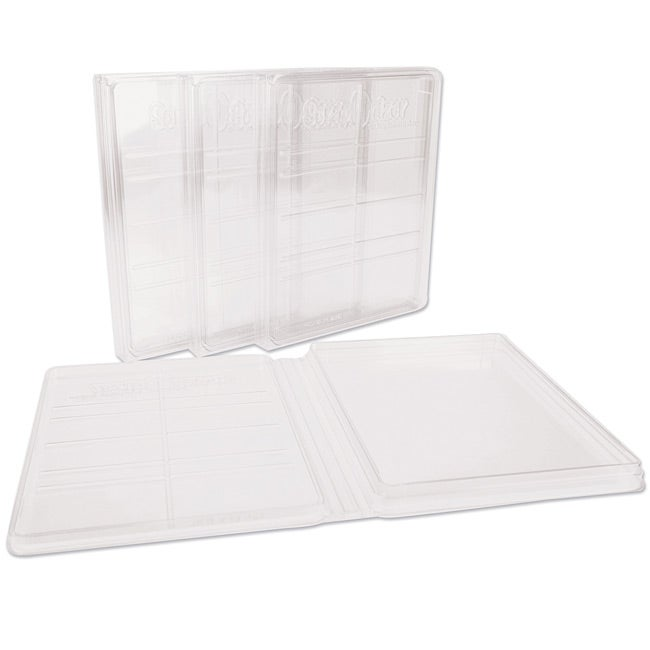 ScrapOnizer Clear Solutions Storage Cases (Pack of 4)