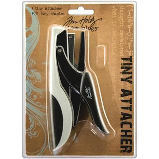 Tim Holtz Idea-ology Tiny Attacher with 100 Tiny Staples