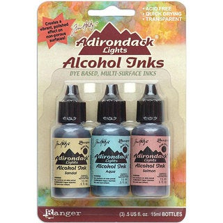 Adirondack Brights Transparent Alcohol Inks (Set of 3)