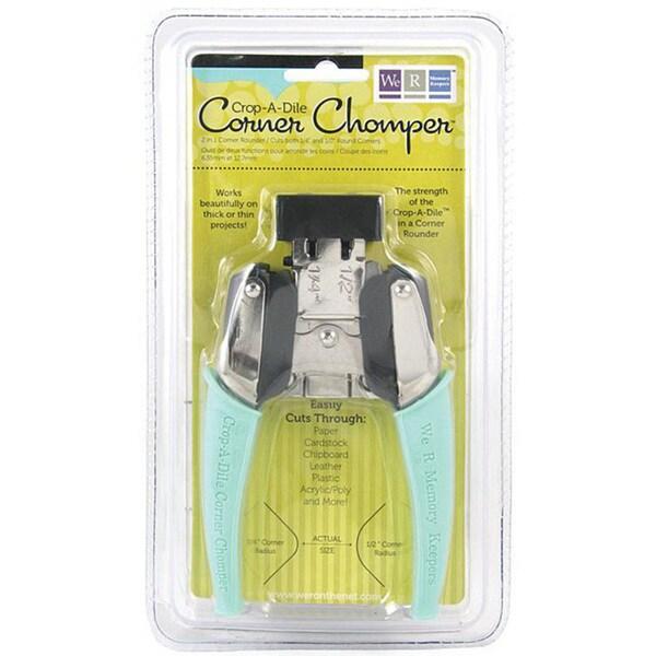 We R Memory Keepers Crop-A-Dile Aqua Corner Chomper Tool. Opens flyout.