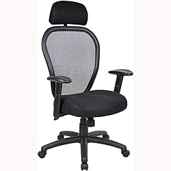 Boss Mesh Task Chair with Headrest