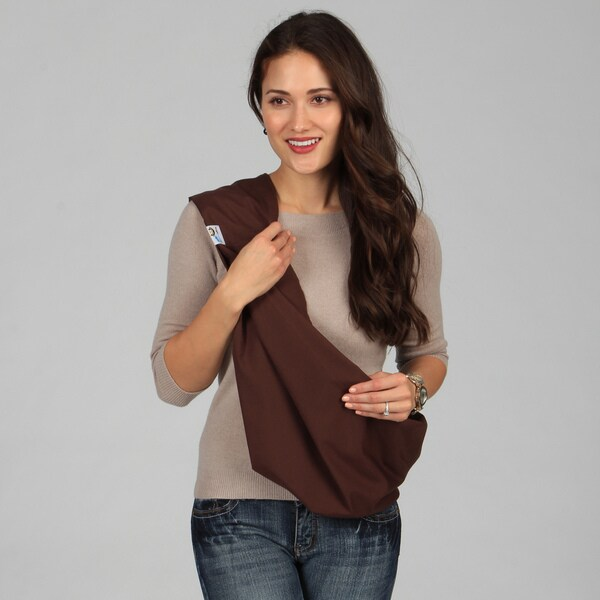 0d440f5c8aa Shop HugaMonkey Brown Baby Sling - Free Shipping On Orders Over  45 ...