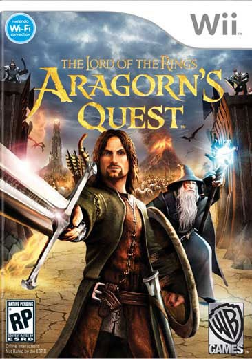 Wii - The Lord of the Rings: Aragorn`s Quest - By WB Games