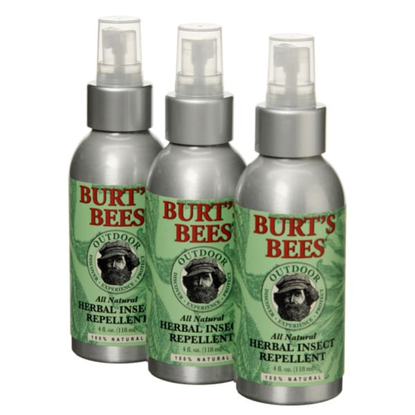 Burt S Bees Herbal Insect Repellent Pack Of 3 Free