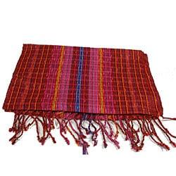 Handmade San Antonio Passion Red Scarf (Guatemala)