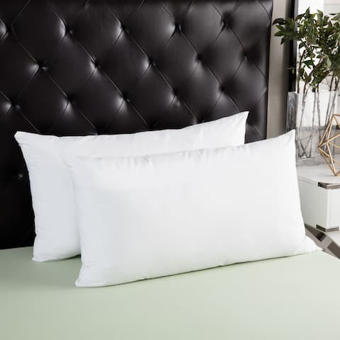 Splendorest Angel Soft Down Alternative King-size Pillows (Set of 2) - White