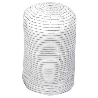White Cotton Comforter Storage Bags (Set of 3)