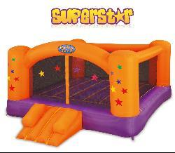 Blast Zone Superstar Inflatable Party Moonwalk Bounce House