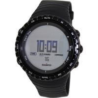 Suunto Men's Core Regular Black SS014809000 Digital Resin Quartz Watch