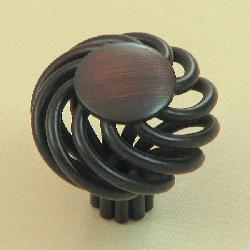 Cornwall Oil-Rubbed Bronze Birdcage Cabinet Knobs (Pack of Five)