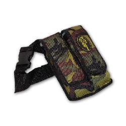 Paintball Camo 2-pocket Pod Pouch with Tubes and Belt - Thumbnail 1
