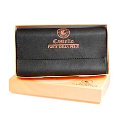 Castello Colombo Checkbook Coat Wallet - Thumbnail 2
