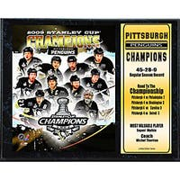 2009 Pittsburgh Penguins 12x15 Championship Plaque