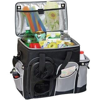 Koolatron 26-quart Soft-sided Cooler Bag (Black/Grey)