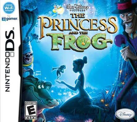 NinDS - The Princess and the Frog