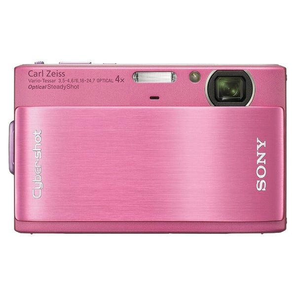 Sony Cyber-shot DSC-TX1 10.2 Megapixel Compact Camera - Pink