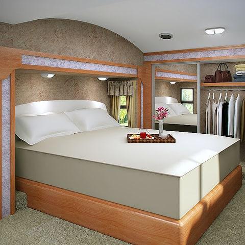 Shop Accu Gold Memory Foam Mattress 13 Inch California King Size Bed Sleep System Overstock 4084780 California King Mattress In A Box Bed Slat Friendly Platform Friendly
