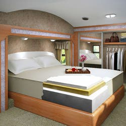 Shop Accu Gold Memory Foam Mattress 13 Inch California King Size