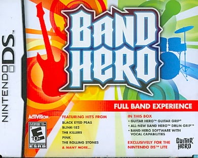 Nintendo DS - Band Hero