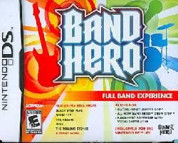 Nintendo DS - Band Hero