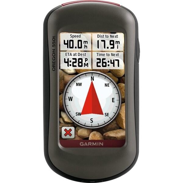 Garmin Oregon 550t Portable Navigator
