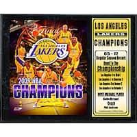 LA Lakers 2009 NBA Champions 12x15-inch Collectible Sports Print