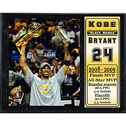 Kobe Bryant 2009 Finals MVP 12x15-inch Collectible Sports Print