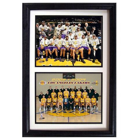 LA Lakers 2009 NBA Champions 12x18-inch Collectible Sports Print