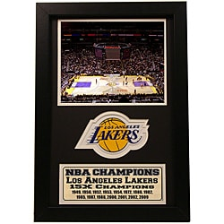 LA Lakers 2009 NBA Champions 12x18-inch Sports Print/ Patch