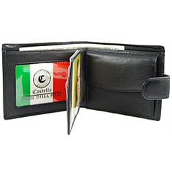 Castello Snap Closure Romano Billfold - Thumbnail 1