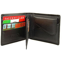 Romano Men's Billfold with Removable Coin Pouch - Thumbnail 1