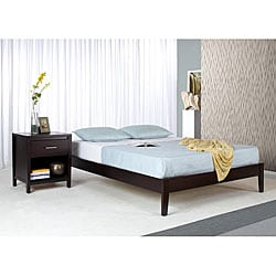 Tapered Leg Queensize Platform Bed Free Shipping Today