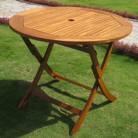 International Caravan Royal Tahiti 36-inch Folding Table