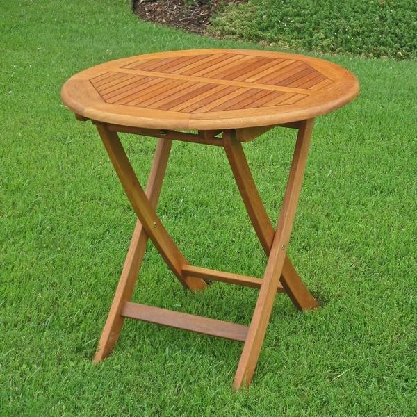 Patio Picnic Tables For Sale: Shop International Caravan Royal Tahiti 28-inch Folding