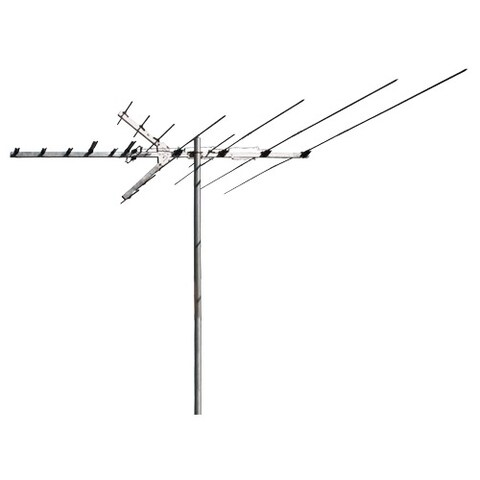 RCA Outdoor Digital TV and FM Radio Antenna with 110 inch Boom