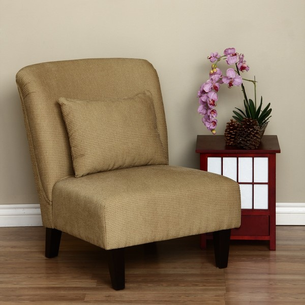 Anna Gold Accent Chair Free Shipping Today Overstock