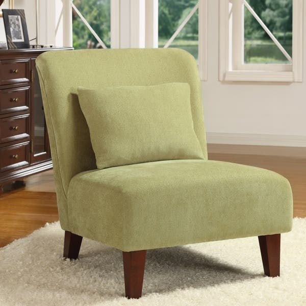 Marvelous Shop Anna Sage Accent Chair Free Shipping Today Gmtry Best Dining Table And Chair Ideas Images Gmtryco