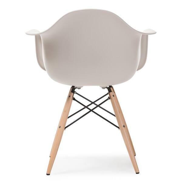 Cool Shop Retro Classic White Accent Chairs Set Of 2 Free Machost Co Dining Chair Design Ideas Machostcouk